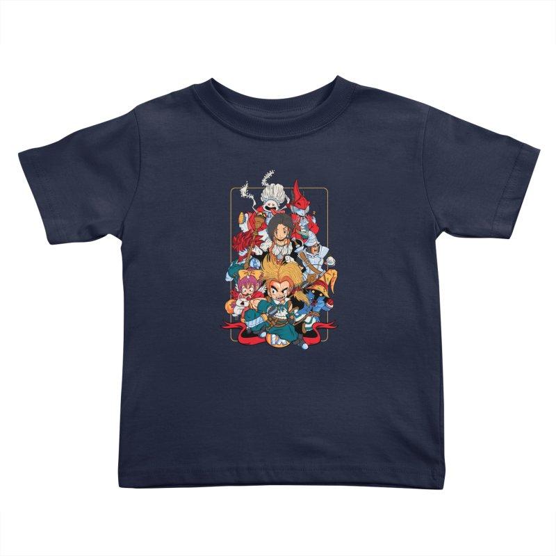Fantasy Quest IX Kids Toddler T-Shirt by Pinteezy's Artist Shop