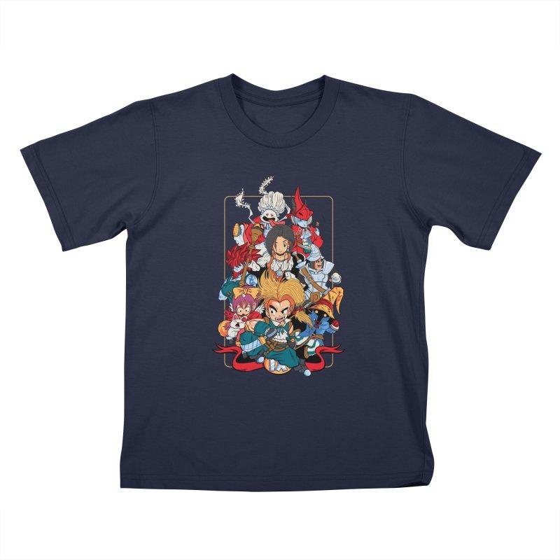 Fantasy Quest IX Kids T-Shirt by Pinteezy's Artist Shop