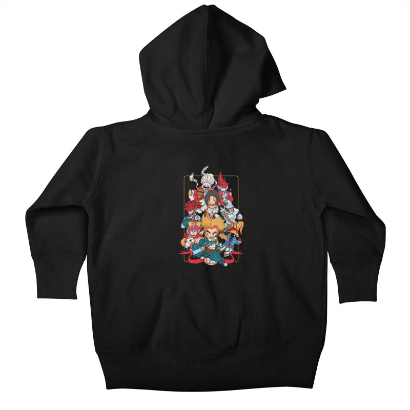 Fantasy Quest IX Kids Baby Zip-Up Hoody by Pinteezy's Artist Shop