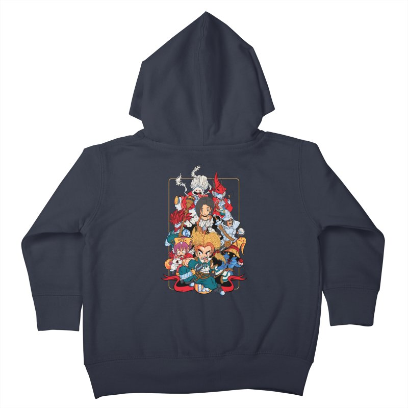 Fantasy Quest IX Kids Toddler Zip-Up Hoody by Pinteezy's Artist Shop