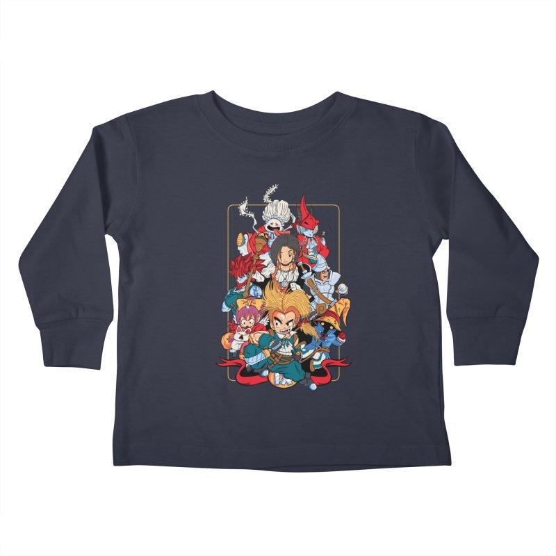 Fantasy Quest IX Kids Toddler Longsleeve T-Shirt by Pinteezy's Artist Shop