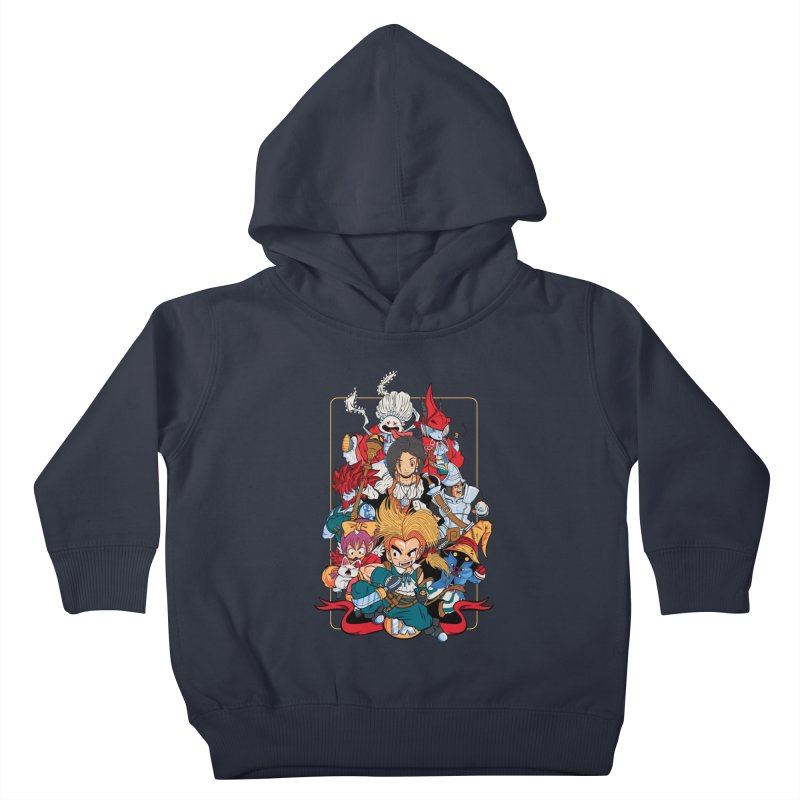 Fantasy Quest IX Kids Toddler Pullover Hoody by Pinteezy's Artist Shop
