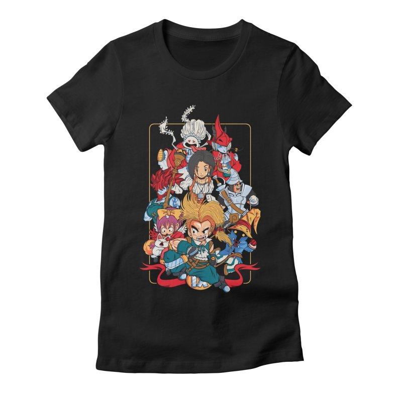 Fantasy Quest IX Women's Fitted T-Shirt by Pinteezy's Artist Shop