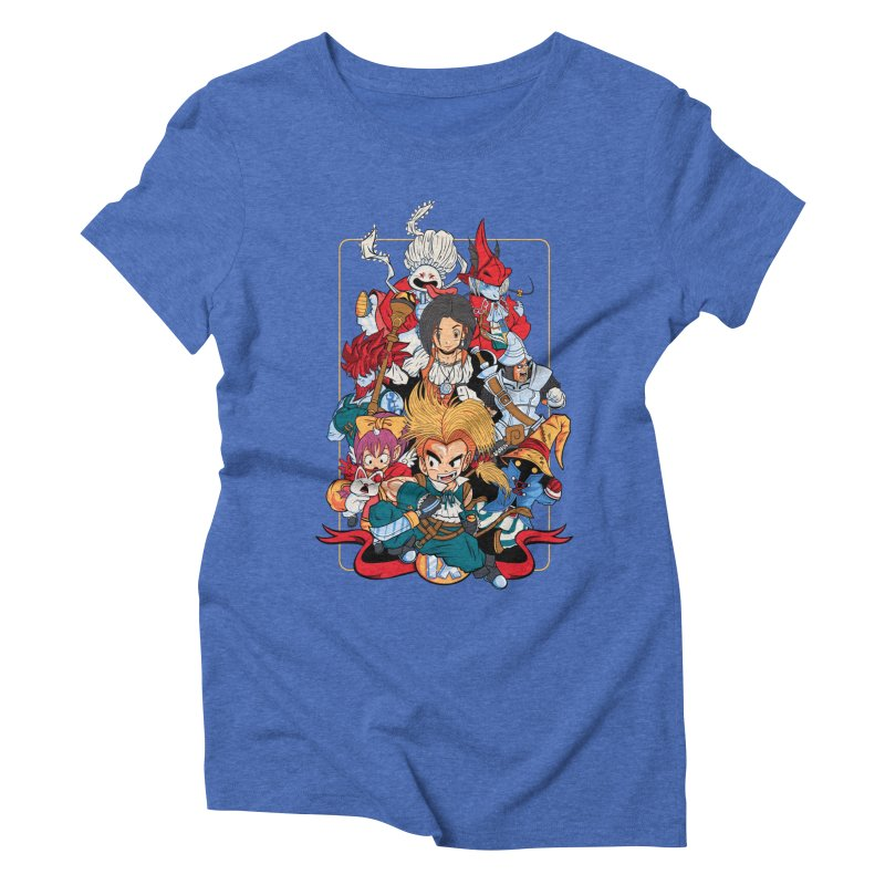 Fantasy Quest IX Women's Triblend T-Shirt by Pinteezy's Artist Shop