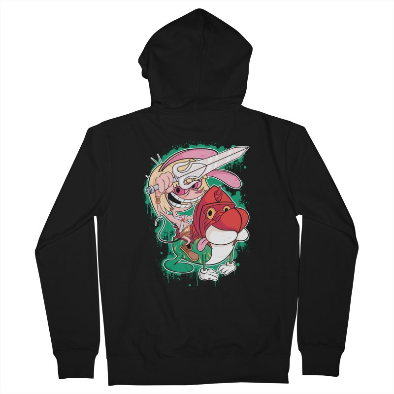 Master Of His Universe Men's Zip-Up Hoody by Pinteezy's Artist Shop