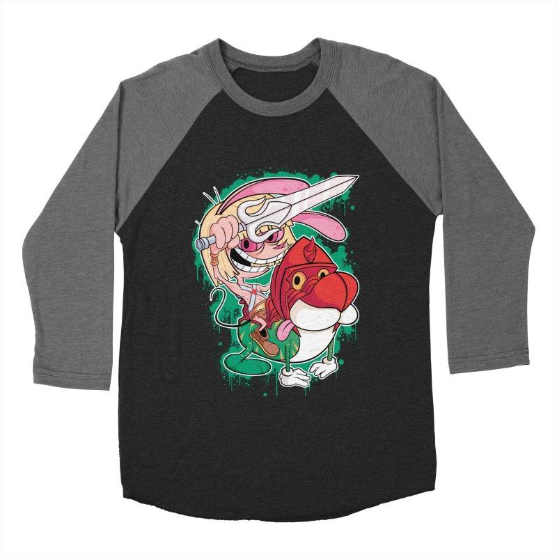 Master Of His Universe Women's Baseball Triblend T-Shirt by Pinteezy's Artist Shop