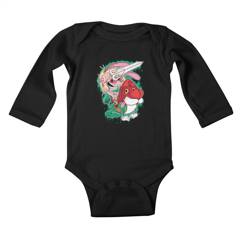 Master Of His Universe Kids Baby Longsleeve Bodysuit by Pinteezy's Artist Shop