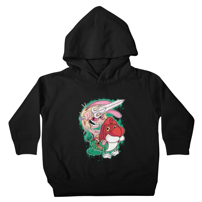 Master Of His Universe Kids Toddler Pullover Hoody by Pinteezy's Artist Shop