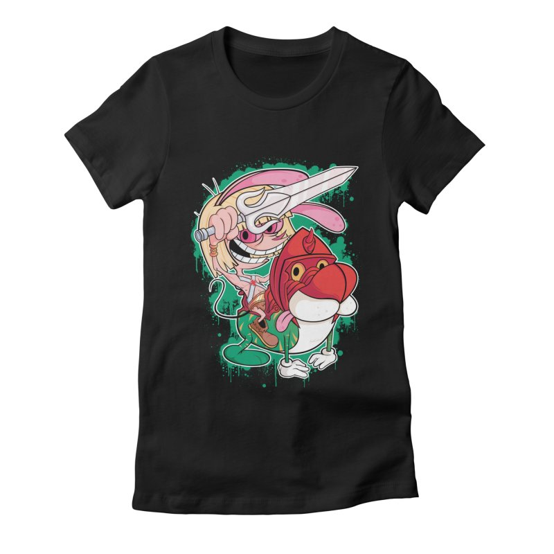 Master Of His Universe Women's Fitted T-Shirt by Pinteezy's Artist Shop