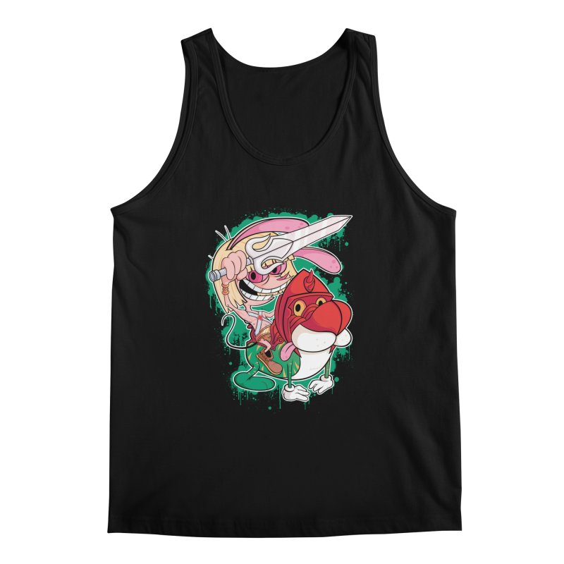 Master Of His Universe Men's Tank by Pinteezy's Artist Shop