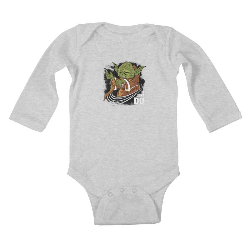 It Just Do Kids Baby Longsleeve Bodysuit by Pinteezy's Artist Shop