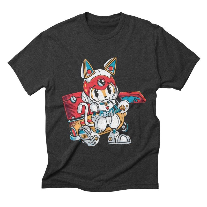 20 Min Or Less Men's Triblend T-shirt by Pinteezy's Artist Shop