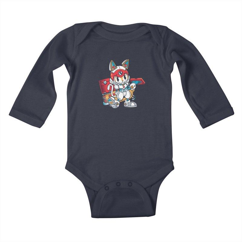 20 Min Or Less Kids Baby Longsleeve Bodysuit by Pinteezy's Artist Shop