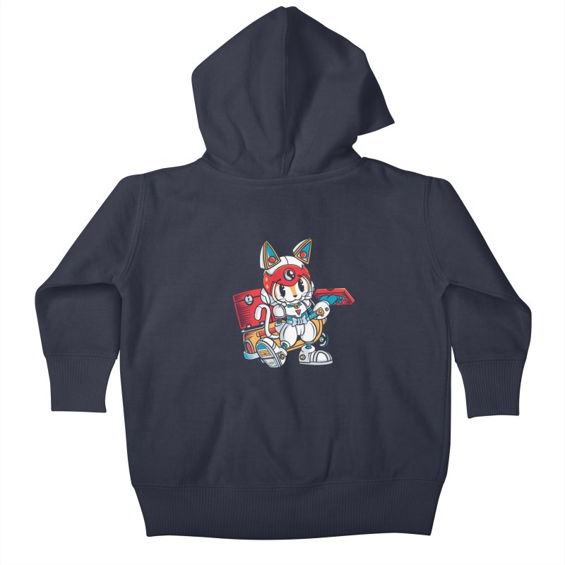 20 Min Or Less Kids Baby Zip-Up Hoody by Pinteezy's Artist Shop