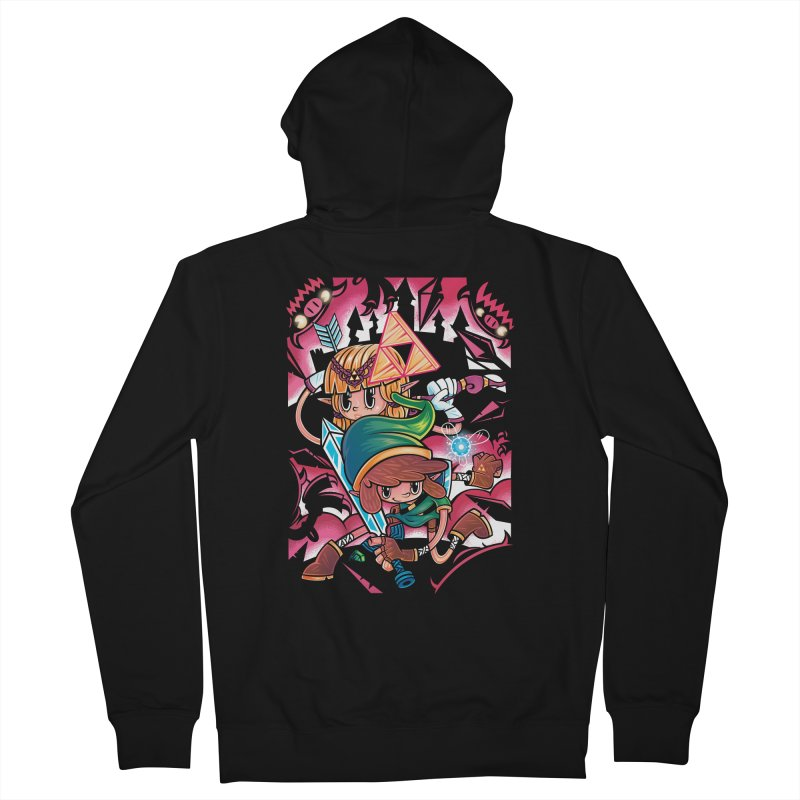 Piece Keepers Men's Zip-Up Hoody by Pinteezy's Artist Shop