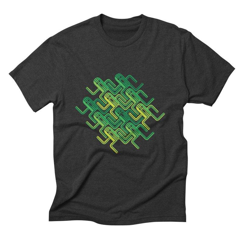 10000 Needles Men's Triblend T-shirt by Pinteezy's Artist Shop