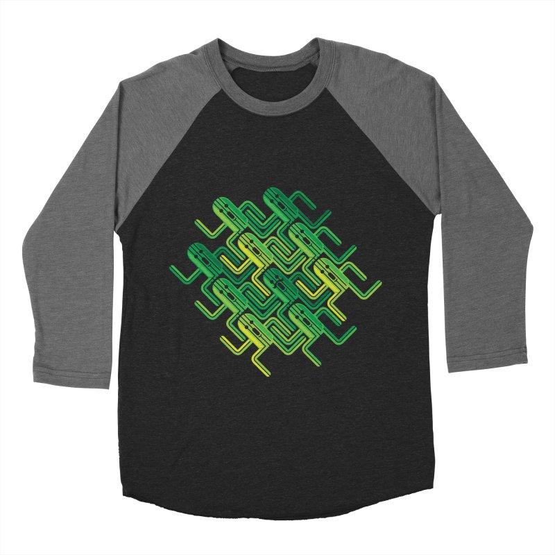 10000 Needles Men's Baseball Triblend T-Shirt by Pinteezy's Artist Shop