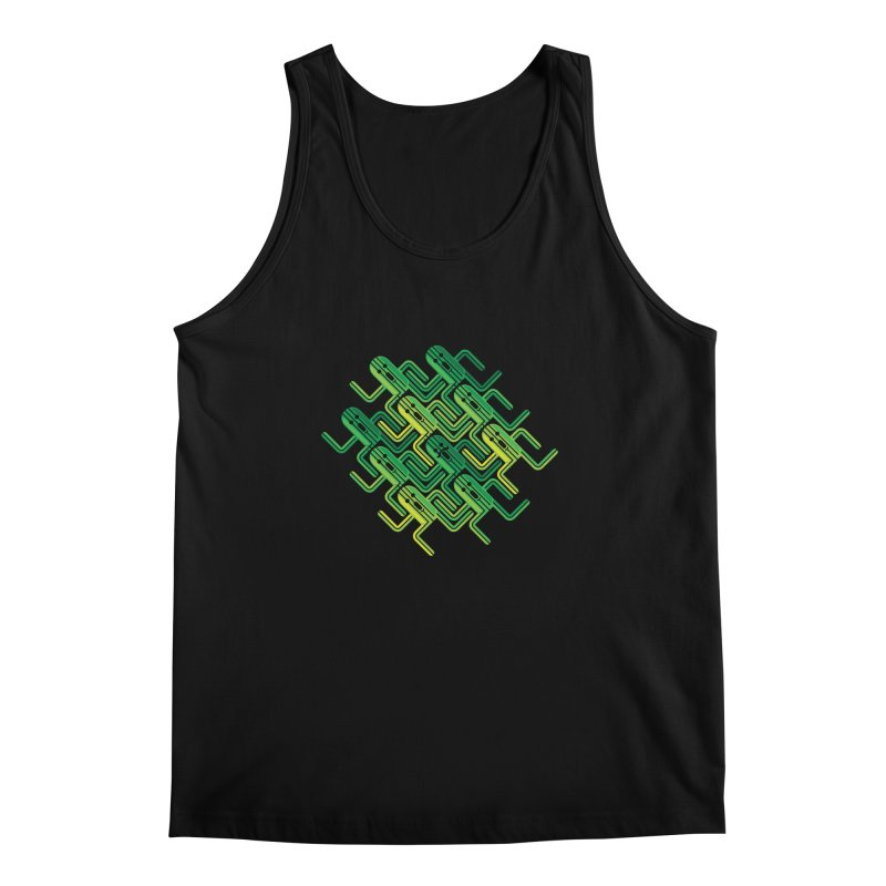 10000 Needles Men's Tank by Pinteezy's Artist Shop