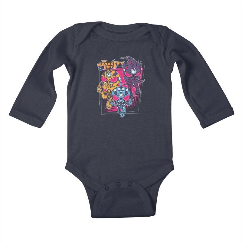 Bio Boost Boys Kids Baby Longsleeve Bodysuit by Pinteezy's Artist Shop