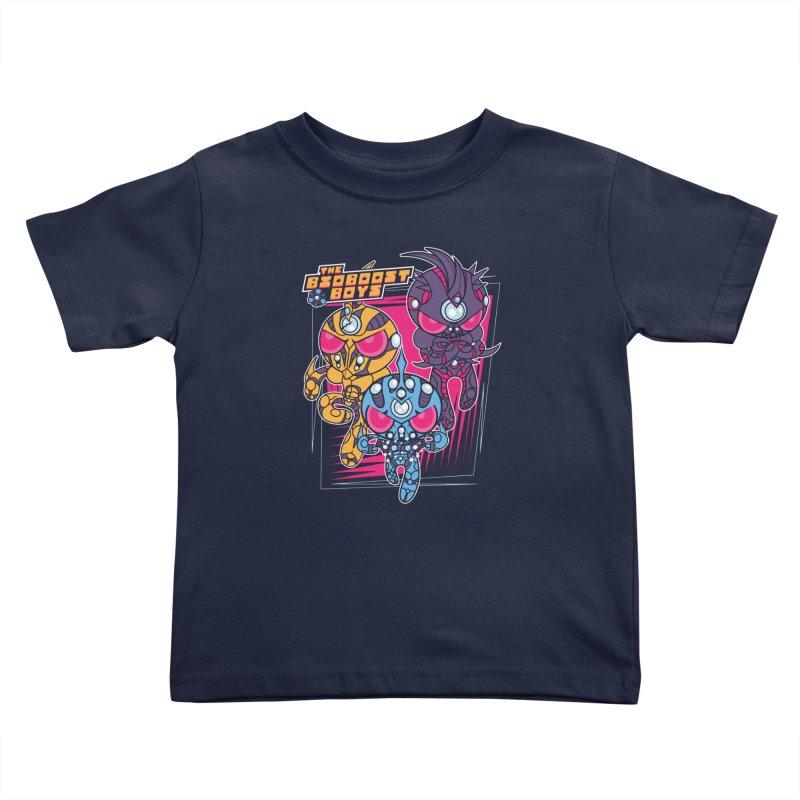 Bio Boost Boys Kids Toddler T-Shirt by Pinteezy's Artist Shop