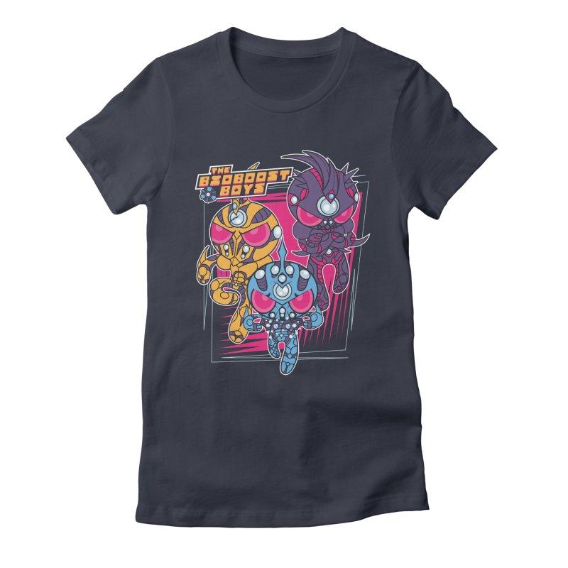 Bio Boost Boys Women's Fitted T-Shirt by Pinteezy's Artist Shop
