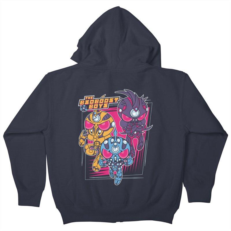 Bio Boost Boys Kids Zip-Up Hoody by Pinteezy's Artist Shop