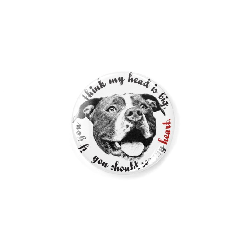 Beefy Bull Accessories Button by Pittie Chicks
