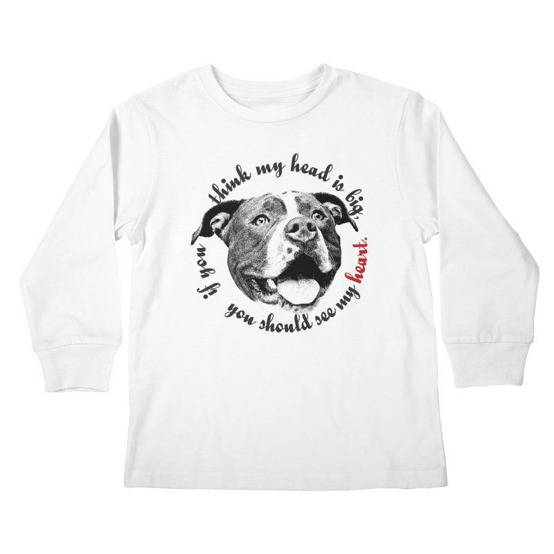 Beefy Bull Kids Longsleeve T-Shirt by Pittie Chicks