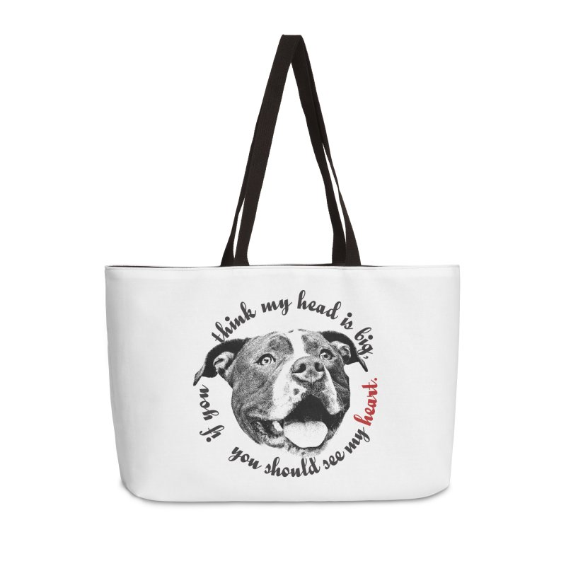 Beefy Bull Accessories Weekender Bag Bag by Pittie Chicks