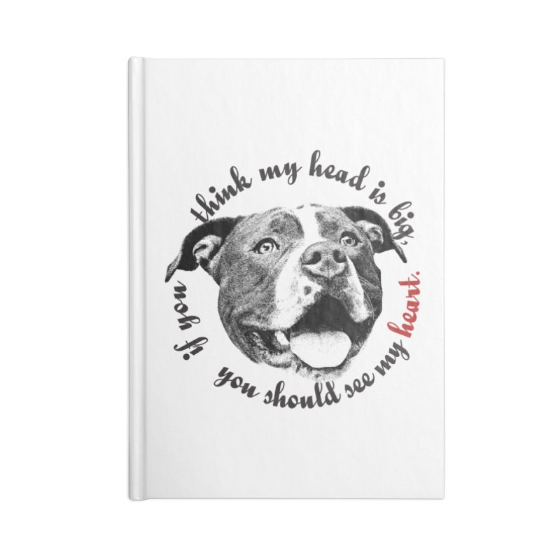 Beefy Bull Accessories Lined Journal Notebook by Pittie Chicks