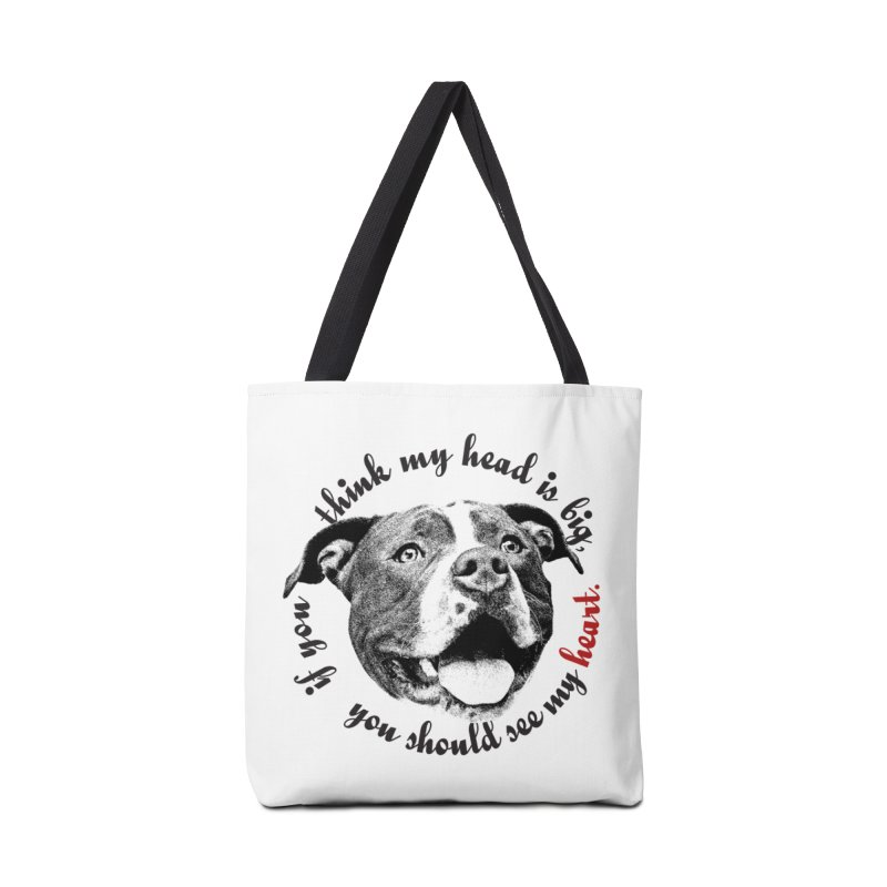 Beefy Bull Accessories Tote Bag Bag by Pittie Chicks