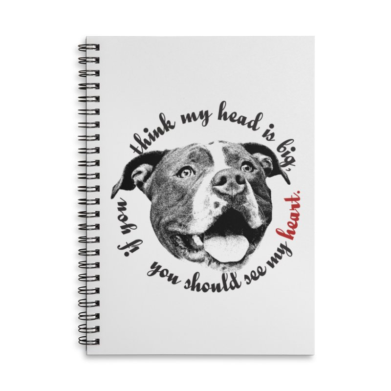Beefy Bull Accessories Notebook by Pittie Chicks
