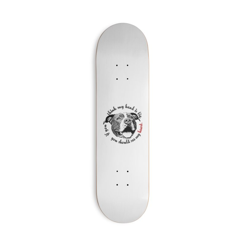 Beefy Bull Accessories Skateboard by Pittie Chicks