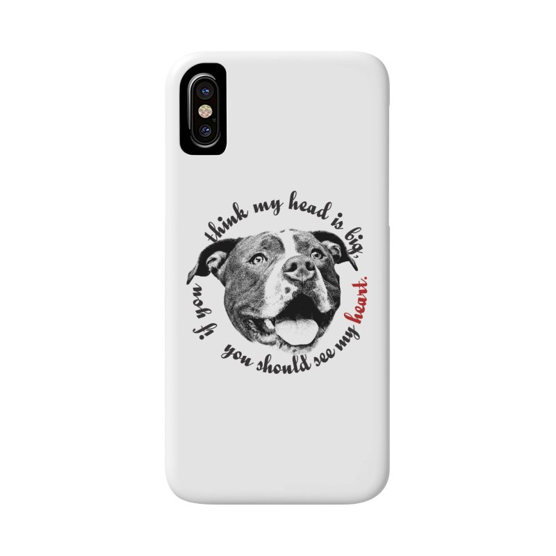 Beefy Bull Accessories Phone Case by Pittie Chicks