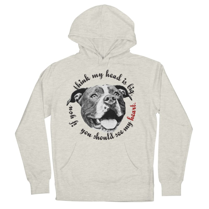 Beefy Bull Women's French Terry Pullover Hoody by Pittie Chicks
