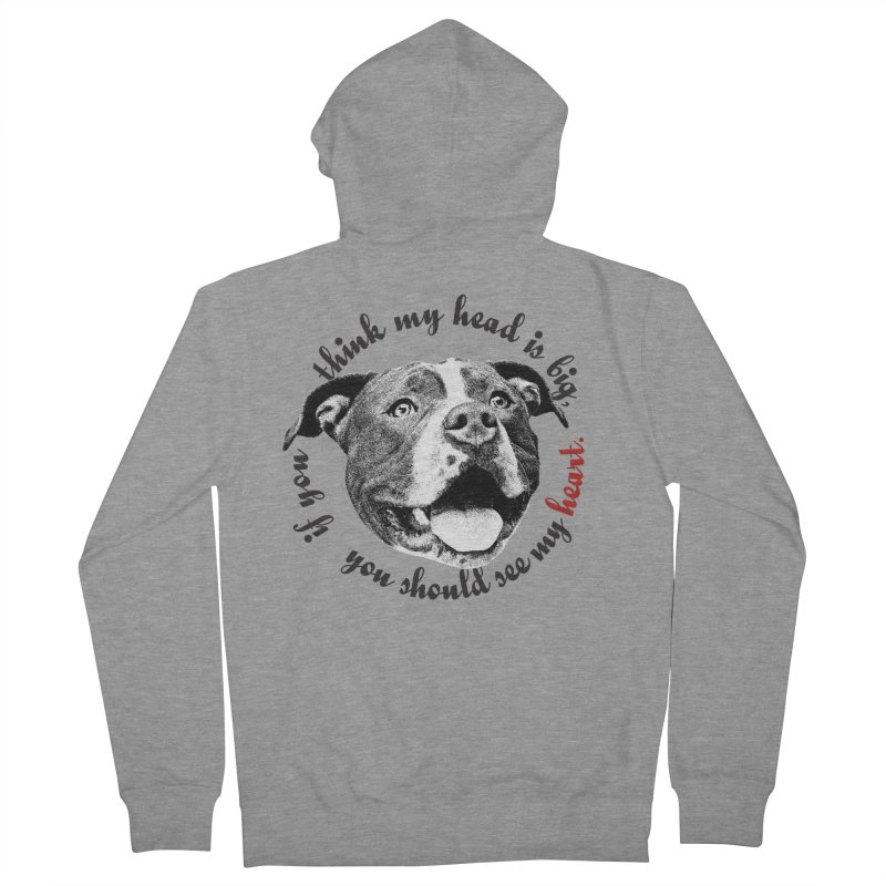 Beefy Bull Women's French Terry Zip-Up Hoody by Pittie Chicks