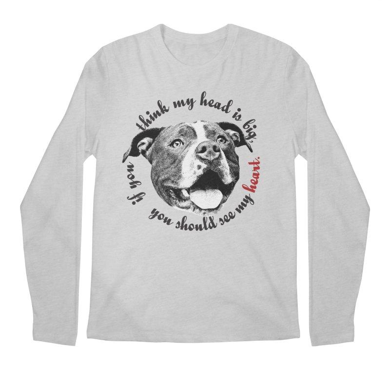 Beefy Bull Men's Regular Longsleeve T-Shirt by Pittie Chicks