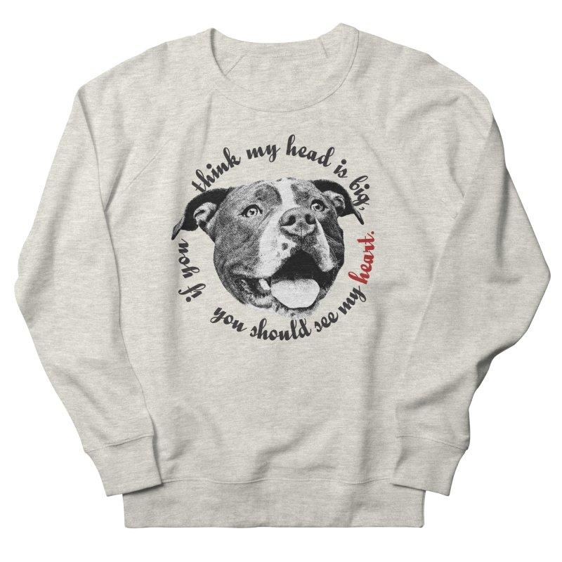 Beefy Bull Women's French Terry Sweatshirt by Pittie Chicks
