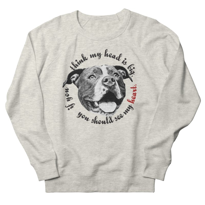 Beefy Bull Men's French Terry Sweatshirt by Pittie Chicks