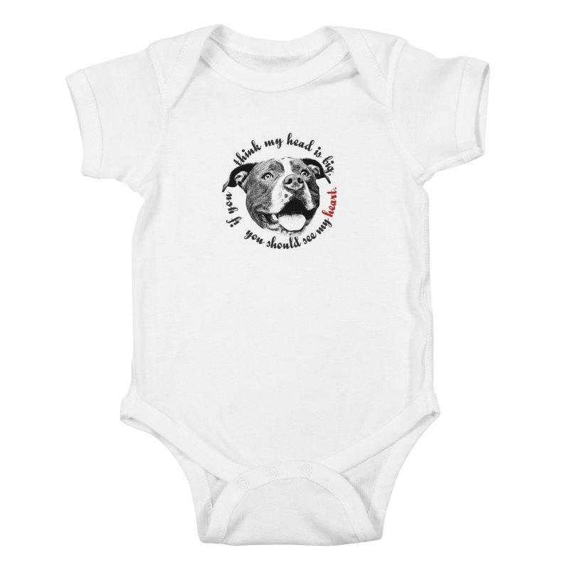 Beefy Bull Kids Baby Bodysuit by Pittie Chicks