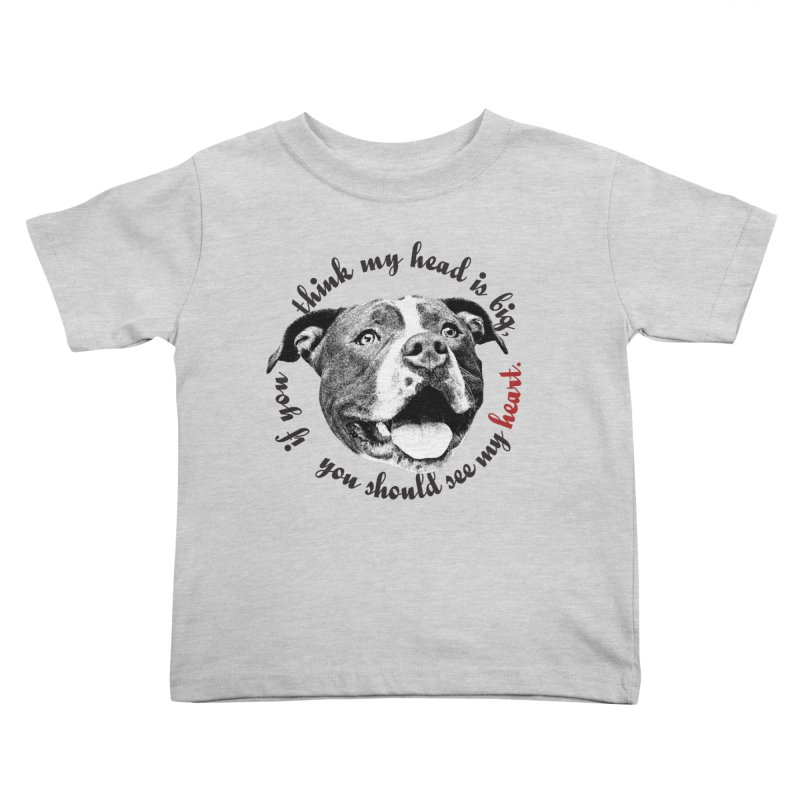 Beefy Bull Kids Toddler T-Shirt by Pittie Chicks