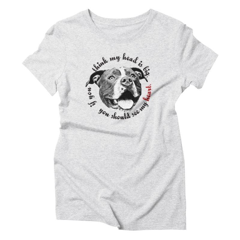 Beefy Bull Women's T-Shirt by Pittie Chicks