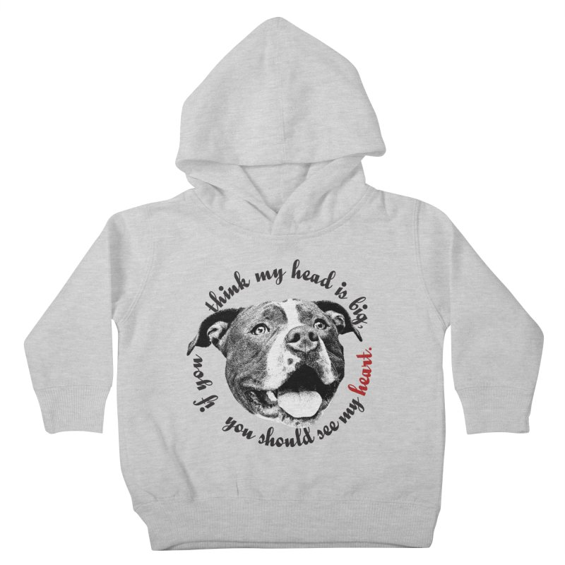 Beefy Bull Kids Toddler Pullover Hoody by Pittie Chicks