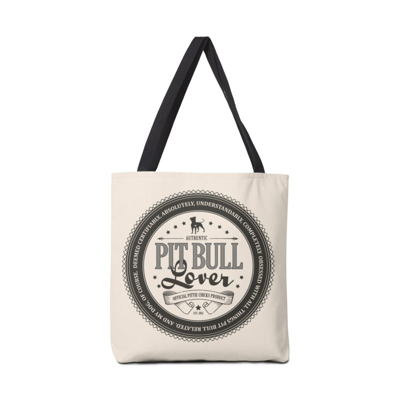 Authentic Pit Bull Lover Accessories Bag by Pittie Chicks