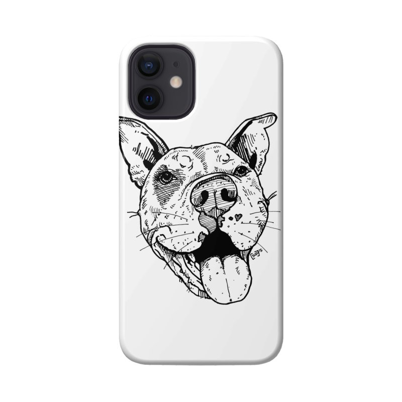 Pittie Smile Accessories Phone Case by Pittie Chicks