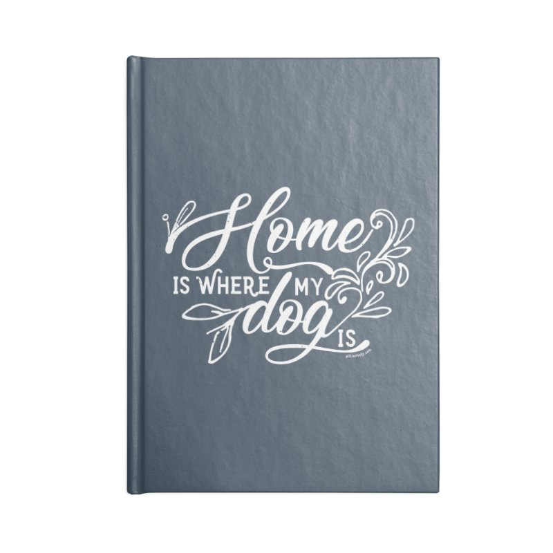 Home Accessories Lined Journal Notebook by Pittie Chicks