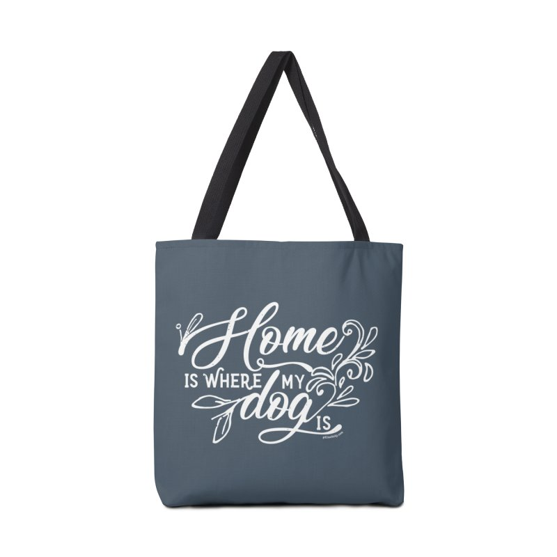 Home Accessories Tote Bag Bag by Pittie Chicks