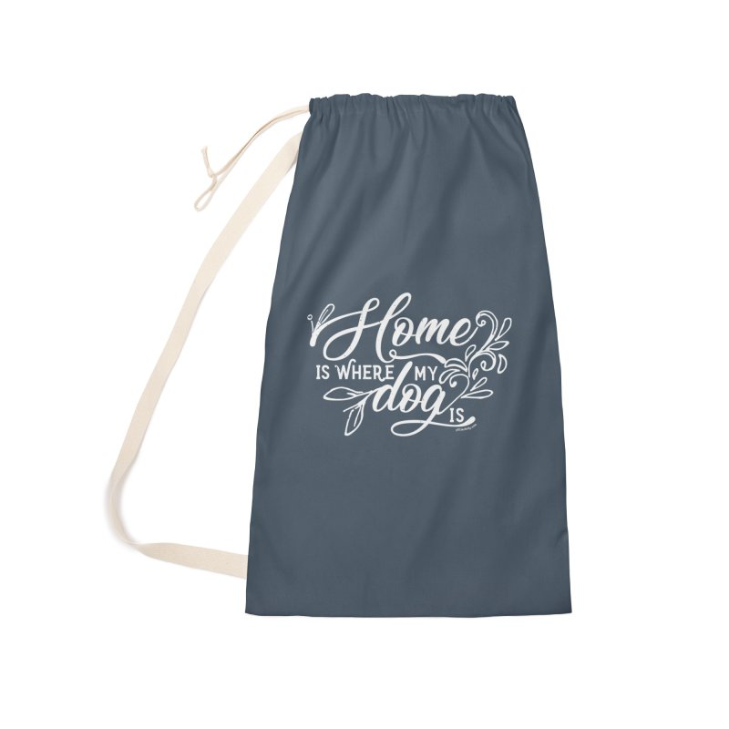 Home Accessories Laundry Bag Bag by Pittie Chicks