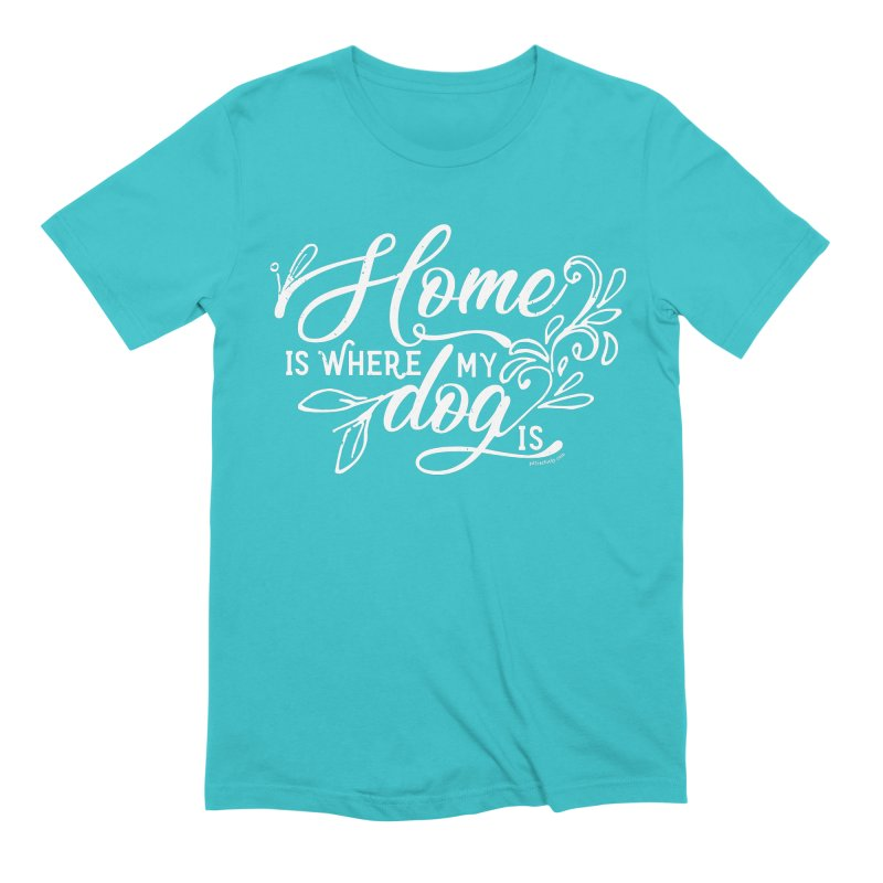Home Men's Extra Soft T-Shirt by Pittie Chicks