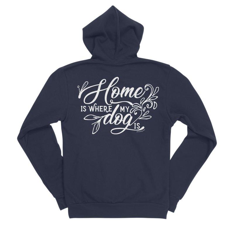 Home Women's Sponge Fleece Zip-Up Hoody by Pittie Chicks